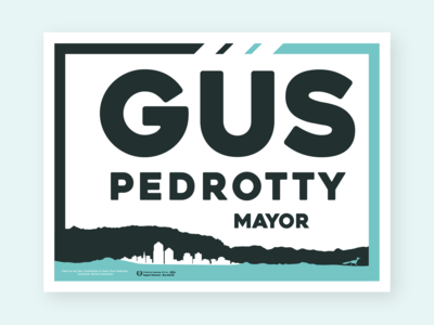 Mayoral Yard Sign