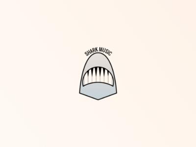 Shark-music logo