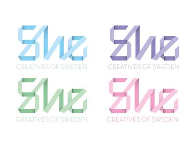 She Creatives logotype logotype logo she creatives of sweden