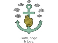 Faith Hope & Love t-shirt for Mister Dress Up