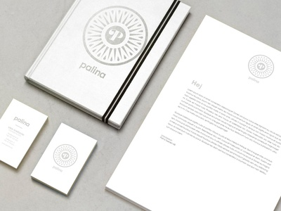 Palina art direction graphic design identity