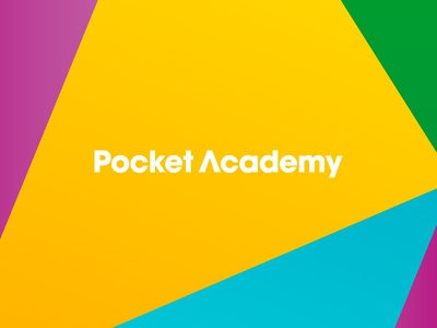 Pocket Academy art direction graphic design identity