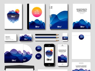 Blinc art direction graphic design identity