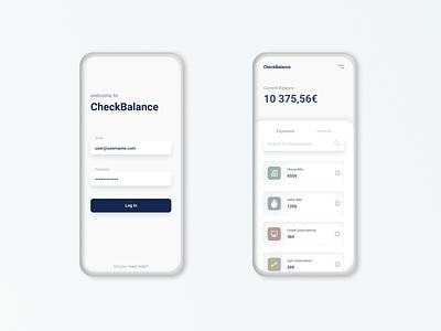 Money Manager - App Design dashboard manager money app ux ui app design banking app banking money manager figma design