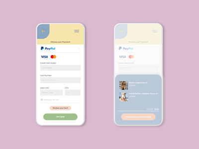 Daily UI 002 - Credit Card Checkout uidesign interface checkout credit card dailyui002 dailyui app web ux ui web design webdesign figma design