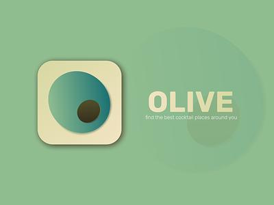 Daily UI 005 - App Icon dailyui 005 green olive dailyui005 icon design icon app icon app logo branding website design web design webdesign ux ui figma design
