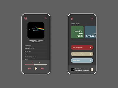 Daily UI 009 - Music Player dailyui009 application dailyui 009 dailyui daily ui music music player apple app app design website design website ux ui web design webdesign figma design