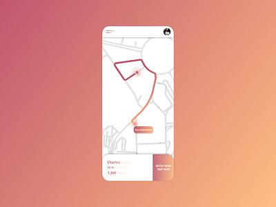 Daily UI 029 - Map ux ui app design app figma design dailyui 029 dailyui029 daily ui dailyui map