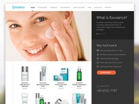 Exuviance Microsite