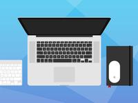 [PSD] Flat Designer's Essentials