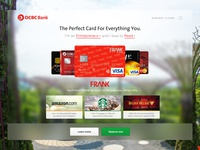 Credit Card Microsite