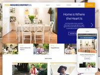 POSB Neighbours First Microsite