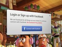 Video Player Facebook Login