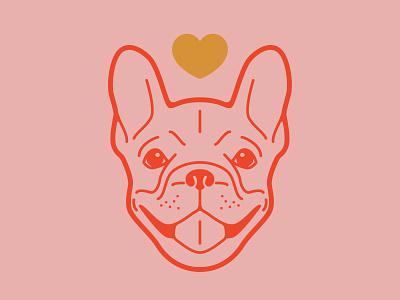 French Bulldog Logo Concept dog logo dog art dog branding french bulldog logo