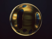 Melting Gold xparticles arnold sphere motion graphics cinema4d cinema 4d animation 3d animation 3d art 3d