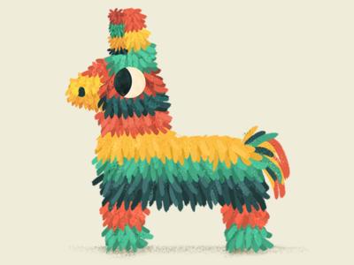 Pinata pinata piñata donkey papel colors tradition fun