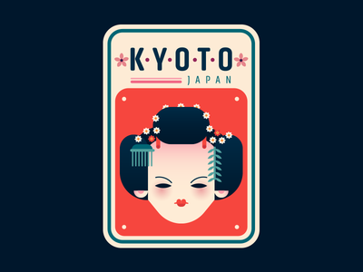 Kyoto Badge