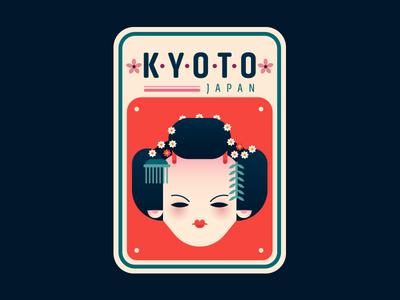 Kyoto Badge