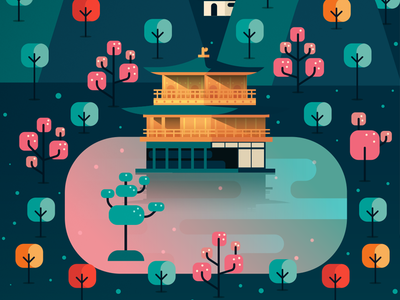 Kinkaku-ji: The Golden Pavilion