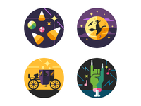 Halloween Compliment Stickers 2