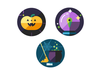 Halloween Compliment Stickers 3