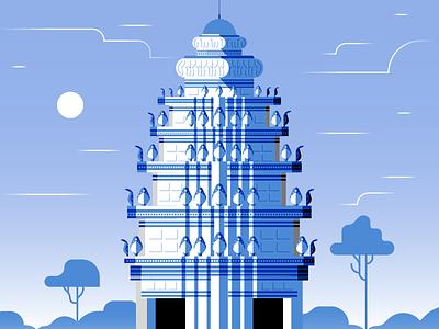 Independence Monument / Phnom Penh asia landscape architecture monument cambodia