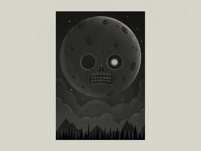 Moon Majora's Mask videogames illustration zelda moon