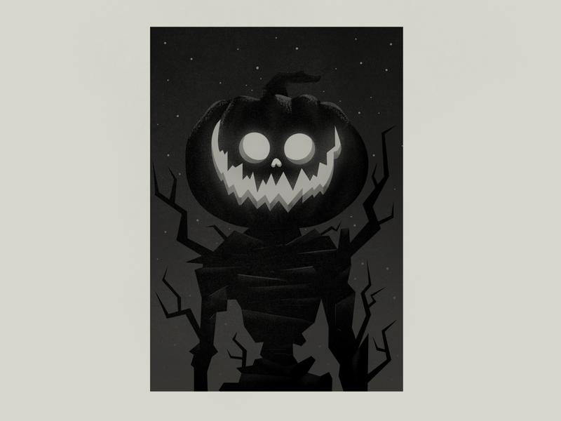 Pumpkin Man jack o lantern halloween photoshop illustration jackolantern pumpkin