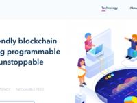 Blockchain website