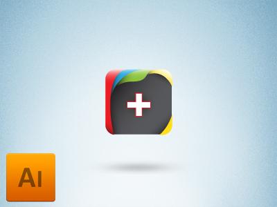 G Plus FREEBIE icon freelance ai freebie free download logo