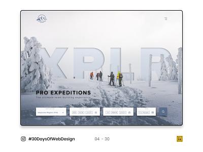 04 - 30 Instagram #30DaysOfWebDesign Challenge photoshop figmadesign web design ui ux