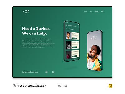06 - 30 Instagram #30DaysOfWebDesign Challenge figma figmadesign logo typography ux ui