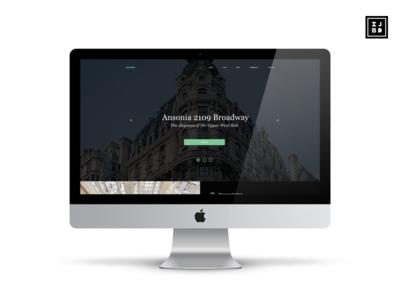 Ansonia NYC Website Redesign