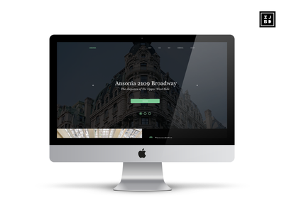 Ansonia NYC Website Redesign website design adobe xd ux ui
