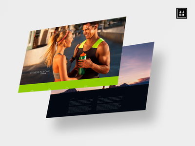 Fitness Presentation ux ui design adobe xd