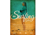 Surfing for Girls Poster concept 2013
