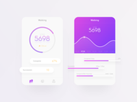 Daily UI / Day 005 & Pedometer