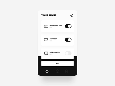 Daily UI & Smart Home Animation
