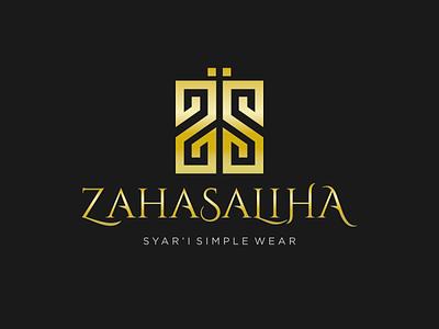 ZH monogram logo logotype monogram vector minimal design logo branding