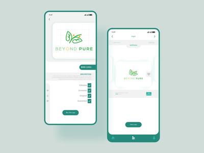 Mobile App - logo shop