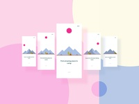 Mobile App Mountanering - Onboarding