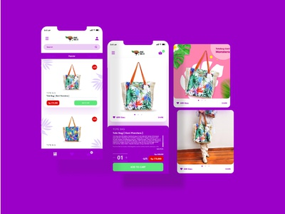 Mobile app - Shopping