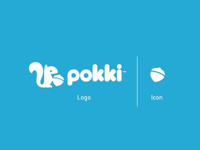 Pokki Logo & Icon pokki squirrel nut acorn logo icon