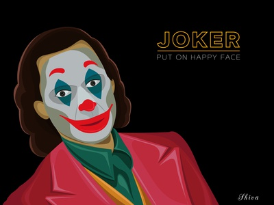 JOKER put on happy face