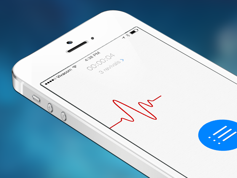 iSoul concept app design ios heart live light icon concept flat iphone interface ui