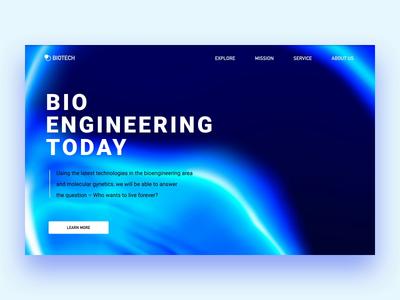 Bio Engineering landing
