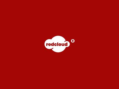 Red Cloud Logo Design illustrator minimal clean design graphic @design icon logo