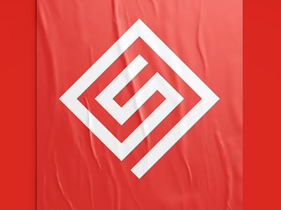 Minimal & Modern Geometric Logo Icon logodesignersclub logodesigner logodesign brand identity brand design vector graphic design flat brand minimal logo illustrator icon design clean