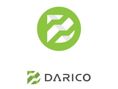 Darico Logo Design typography graphic design brand mobile lettering type ui web illustrator vector minimal logo identity icon flat design clean branding app