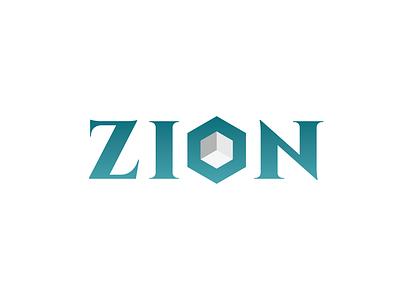 Zion Stone Company Logo Design lettering typography web vector minimal logo illustrator identity icon graphic design flat design clean branding brand